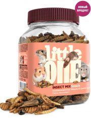 Смесь насекомых лакомство для всеядных грызунов