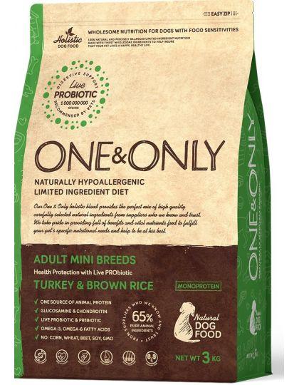 Turkey & Rice Adult Mini Breeds сухой корм для взрослых собак мелких пород  с индейкой и рисом