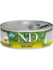 N&D Prime консервы для кошек Кабан и яблоко