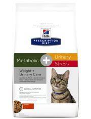 Metabolic + Urinary Stress  полноценный диетический рацион для взрослых кошек