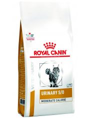 Urinary S/O Moderate Calorle Feline (диета) с умеренным содержанием энергии для кошек при лечении мочекаменной болезни