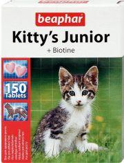 Kitty's Junior кормовая добавка с биотином для котят