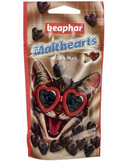 Malthearts сердечки с мальт-пастой для кошек