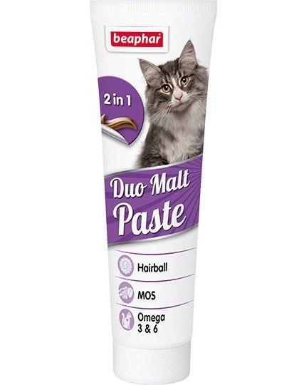 Duo Malt Paste паста для выведения шерсти для кошек
