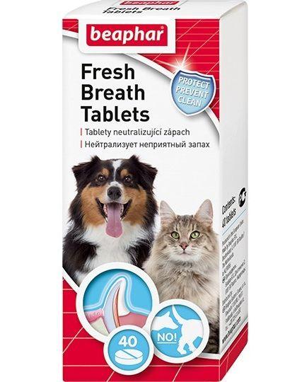 Fresh Breath средство с хлорофиллом от запаха из пасти, для собак