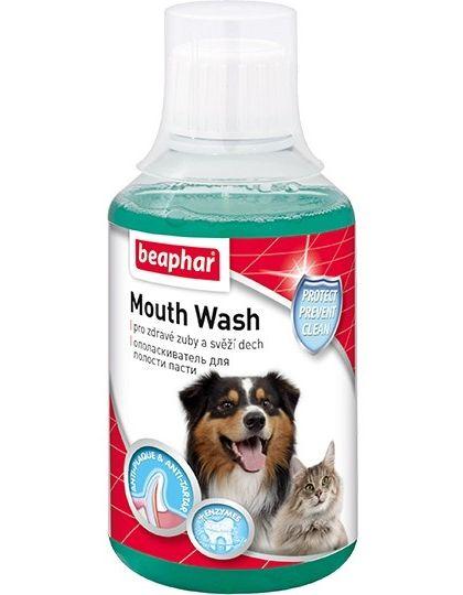 Mouth Wash жидкость для чистки зубов для кошек и собак