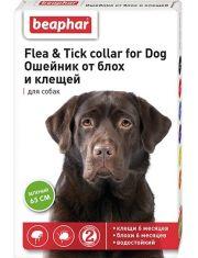Ошейник от блох и клещей для собак зеленый