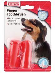 Finger Toothbrush двойная зубная щетка на палец
