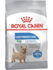 Mini Light Weight Care для взрослых и стареющих собак мелких размеров  склонных к набору лишнего веса