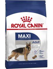 Maxi Adult полнорационный сухой корм для взрослых собак крупных размеров (вес собаки от 25 до 45 кг) в возрасте c 15 месяцев до 5 лет