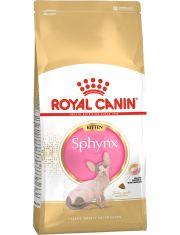 Sphynx Kitten полнорационный корм для котят породы сфинкс от 4  до 12 месяцев