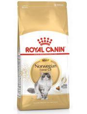 Norwegian Adult полнорационный корм для кошек породы норвежская лесная старше 12 месяцев