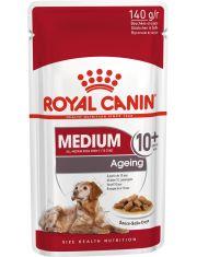 Medium Ageing 10+ кусочки в соусе для стареющих собак средних размеров (весом от 11 до 25 кг) в возрасте 10 лет и старше