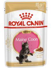 Maine Coon Kitten кусочки в соусе для котят породы мейн-кун в возрасте до 15 месяцев