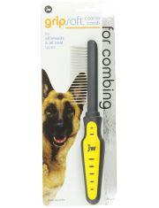 Расческа для собак с редкими зубьями