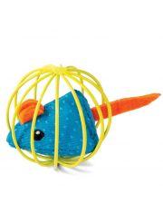 Мышка в шаре игрушка для кошек
