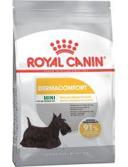 Mini Dermacomfort для взрослых и стареющих собак мелких размеров при раздражениях и зуде кожи, связанных с повышенной чувствительностью