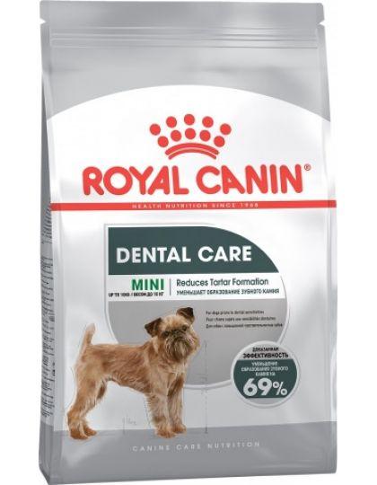 Mini Dental Care полнорационный корм для собак мелких пород склонных к образованию зубного камня