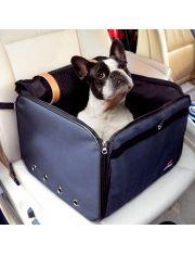 Переноска Arca с креплением к автомобильному креслу для кошек и мелких собак