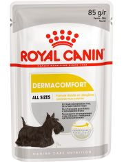 Dermacomfort Pouch Loaf (в паштете) влажный корм для собак с чувствительной кожей, склонной к раздражениям и зуду