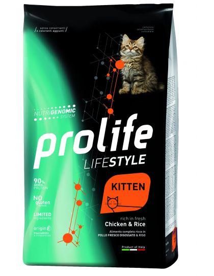 Lifestyle Kitten Chicken & Rice для котят с курицей и рисом