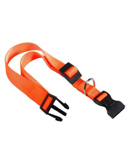 Ошейник Club C15/44 с пластиковым креплением оранжевый