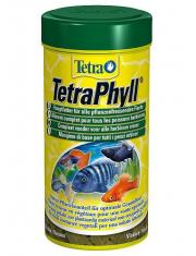 TetraPhyll корм для травоядных рыб, хлопья