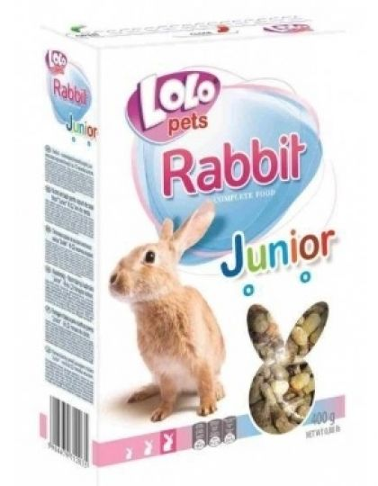 Junior корм для кроликов молодых полнорационный