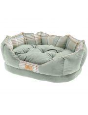 Софа CHARLES 50 зеленая сдвусторонней подушкой