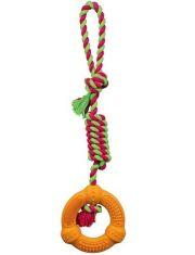Игрушка Denta Fun кольцо на веревке