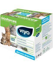Напиток пребиотический Viyo Reinforces All Ages Cat, для кошек всех возрастов