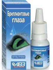 Бриллиантовые глаза - капли глазные для собак и кошек