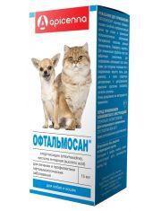 Офтальмосан глазные капли для кошек и собак