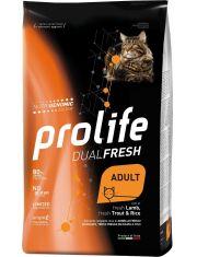 Dual Fresh Adult сухой корм для кошек с ягненком, форелью и рисом