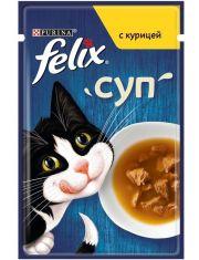 Суп для взрослых кошек с курицей