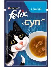 Суп для взрослых кошек с треской