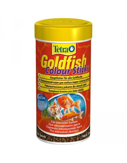 Goldfish Colour Sticks корм для золотых рыбок, мелкие шарики