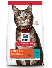 Science Plan для взрослых кошек, с тунцом
