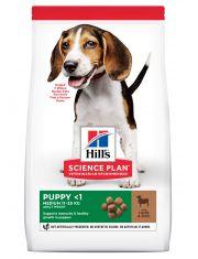 Hill's Science Plan Healthy Development сухой корм для щенков средних пород до 12 месяцев для гармоничного развития ягненок с рисом
