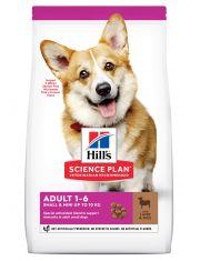 Hill's Science Plan Small & Miniature сухой корм для собак мелких и миниатюрных пород от 1 до 6 лет для повседневного питания ягненок с рисом