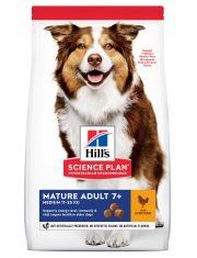 Hill's Science Plan Active Longevity сухой корм для собак мелких и средних пород старше 7 лет для повседневного питания с курицей