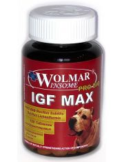 Wolmar Pro Bio IGF MAX оптимизатор питания, увеличивающий рост мышечной массы, для щенков и собак крупных пород
