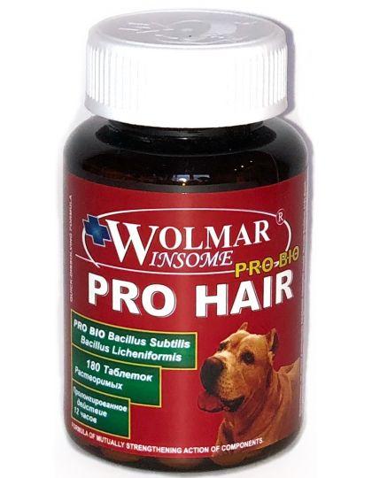 Wolmar Pro Bio PRO HAIR комплекс для улучшения кожи и шерсти, для щенков и собак