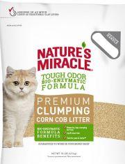Наполнитель кукурузный комкующийся для кошачьего туалета