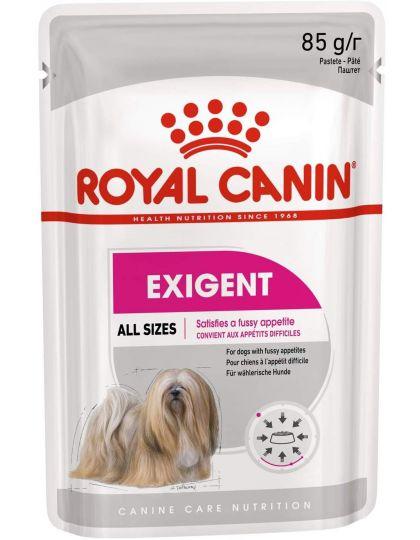 Exigent Care паштет для взрослых собак всех пород привередливых в питании