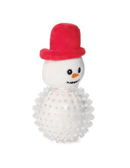 Снеговик в броне игрушка для собак