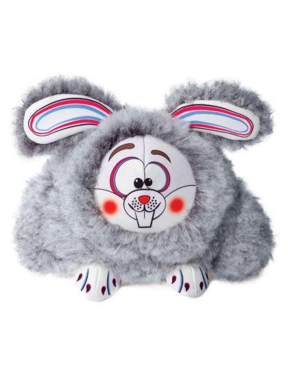 Забавный кролик игрушка для собак