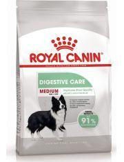 Medium Digestive Care полнорационный сухой корм для взрослых собак старше 12 месяцев и стареющих собак средних размеров вес собаки от 11 до 25 кг с повышенной чувствительностью пищеварительной системы