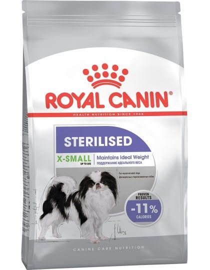 X-Small Sterilised для стерилизованных собак миниатюрных пород от 10 месяцев