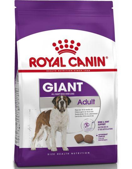Giant Adult для взрослых собак очень крупных размеров (> 45 кг) в возрасте 18/24 месяцев и старше